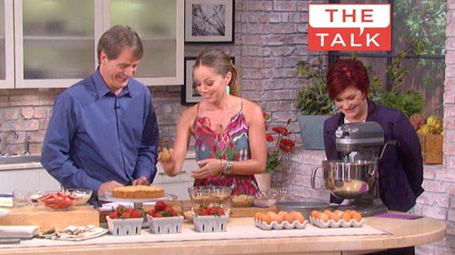 The Talk - 'Baking' with Chef Marcela