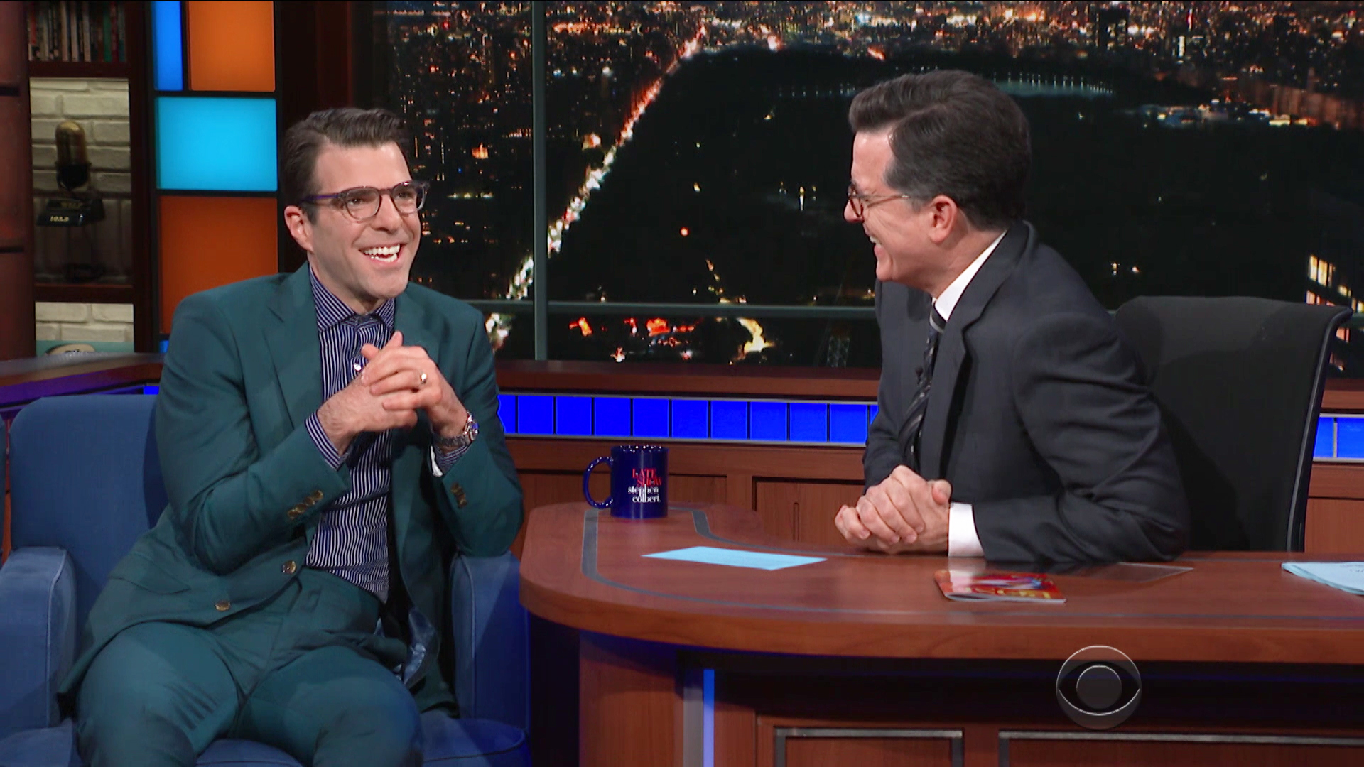 Watch The Late Show with Stephen Colbert Season 3 Episode 144: 5/21/18  (Zachary Quinto, Vanessa Bayer, Dean Baquet) - Full show on CBS All Access