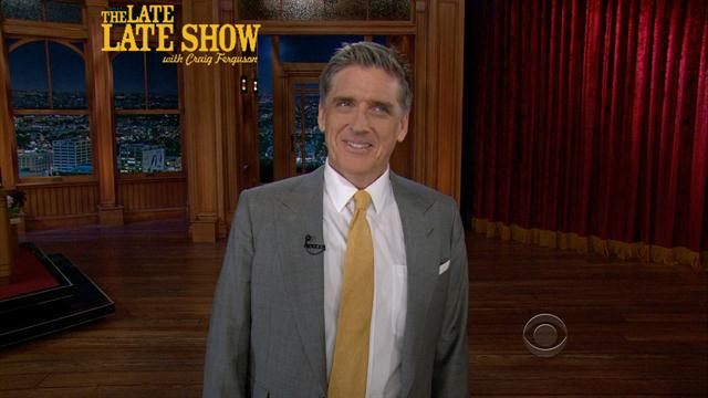 The Late Late Show: Craig Ferguson - Craig's Monologue - 5/21/2013