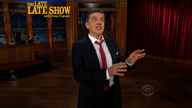 The Late Late Show: Craig Ferguson - Craig's Monologue - 6/11/2013