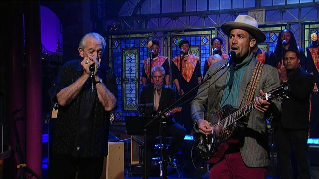 Ben Harper with Charlie Musselwhite - 