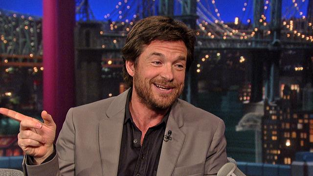 The Late Show: David Letterman - Jason Bateman