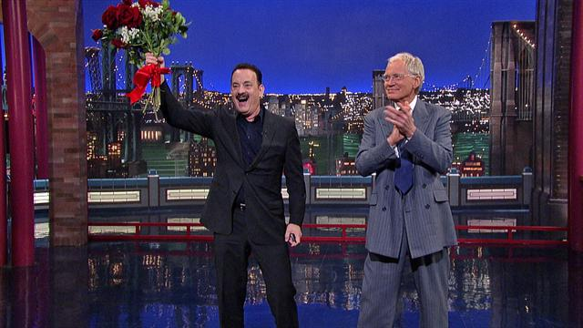 The Late Show: David Letterman - Tom Hanks in the Audience
