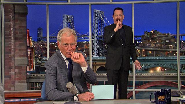 The Late Show: David Letterman - Tom Hanks and Top Ten Birds