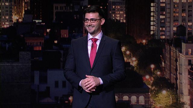 The Late Show: David Letterman - Comedian Tommy Johnagin