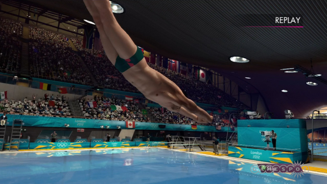 London 2012 - Real Men Trampoline Gameplay Video