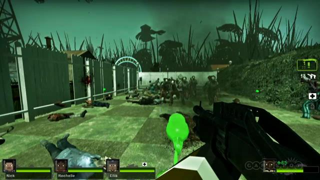 Plants vs. Zombies vs. Minecraft – Left 4 Dead 2 Mods Gameplay – 2MineCraft.com