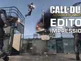 CoD: AW Editor Impressions - The Lobby