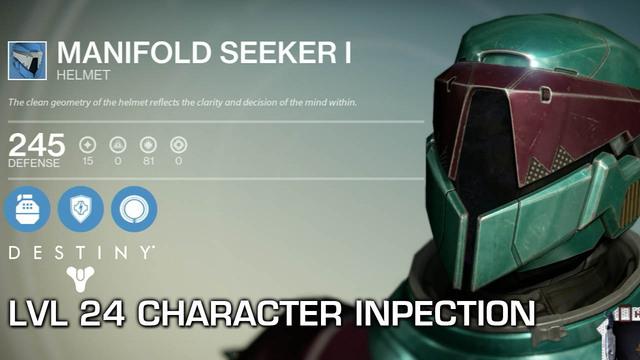 Destiny - Level 24 Character Inspection