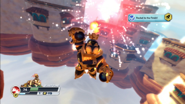 Skylanders SWAP Force - Rocket Swap Zone Gameplay