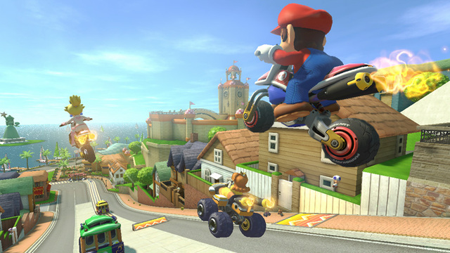 Split-Screen Battles in Mario Kart 8 - The Lobby