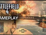 Battlefield 4 - Attack Boat Killstreak on Hainan Resort - PS4 Gameplay