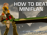 How to Beat Miniflan - Lightning Returns Final Fantasy XIII Boss Guide