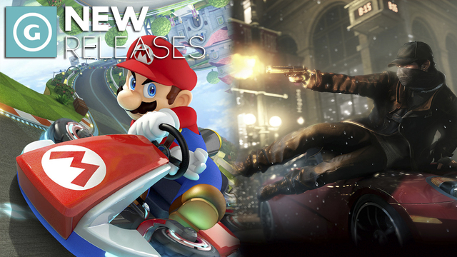Watch Dogs and Mario Kart 8 - New Releases