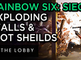 Rainbow Six Siege: Exploding Walls & Riot Shields - The Lobby