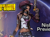 Borderlands: The Pre-Sequel - Nisha is a Cowgirl with a Whip and an Aimbot.