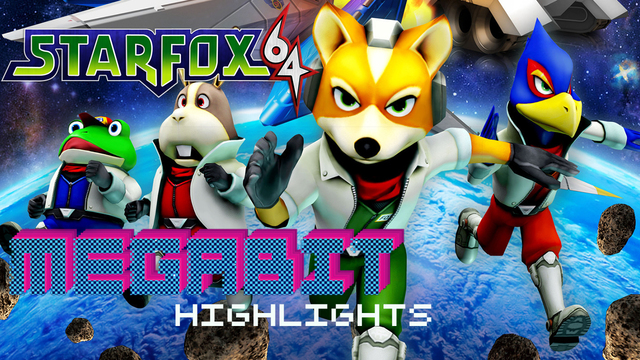 Star Fox 64 and Mickey's Speedway USA - Megabit Highlights
