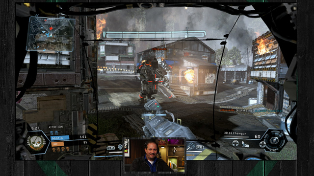Titanfall gameplay on the Xbox 360 - The Lobby