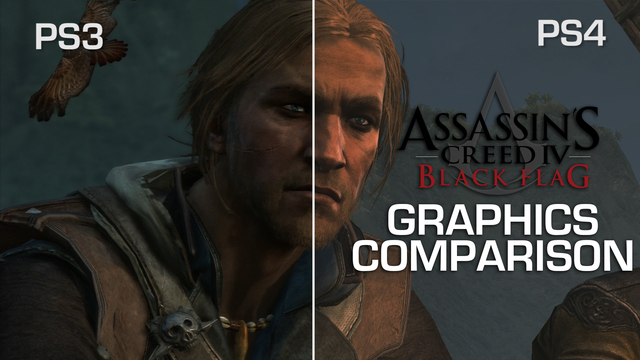 Assassins Creed IV Graphics Comparison: PS3 vs PS4 - Is it worth the wait?