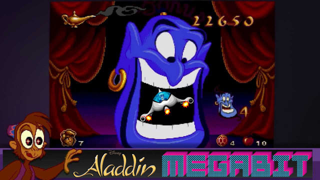 Disney's Aladdin (Genesis) - Megabit