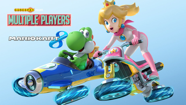 Mario Kart 8 - Multiple Players
