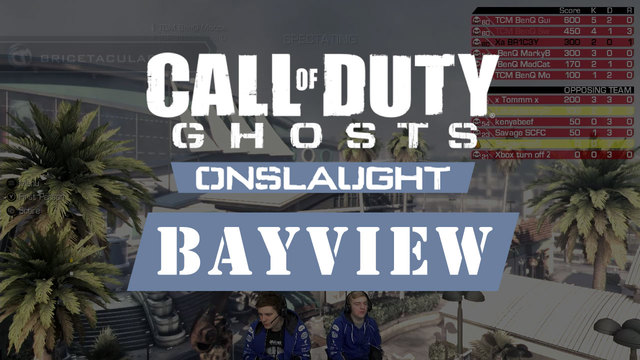Call of Duty: Ghosts - Bayview Onslaught Gameplay