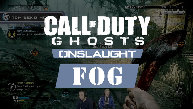 Call of Duty: Ghosts - Fog Onslaught Gameplay