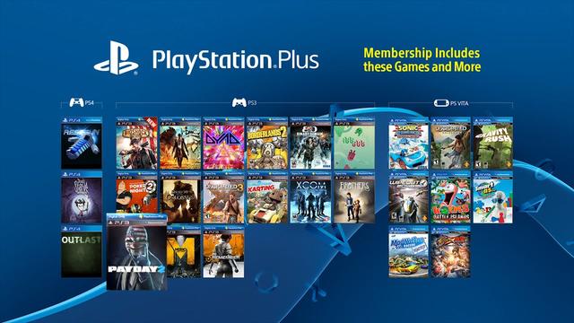 games free playstation plus