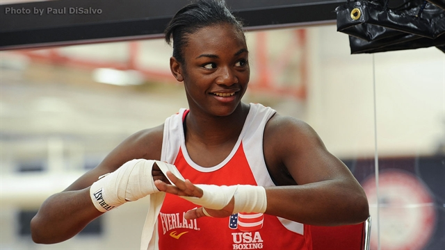 Claressa Shields goes for gold