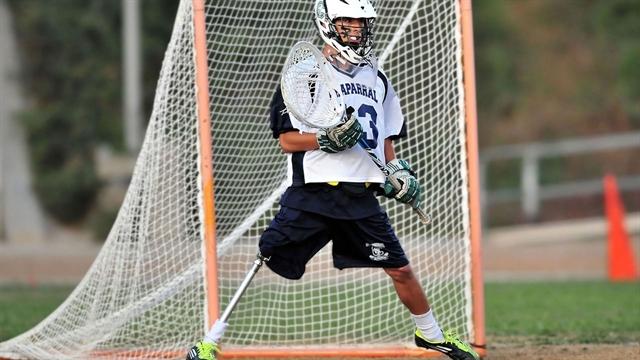 No regrets, no limitations for lacrosse goalie