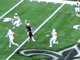Impressive one-handed catch