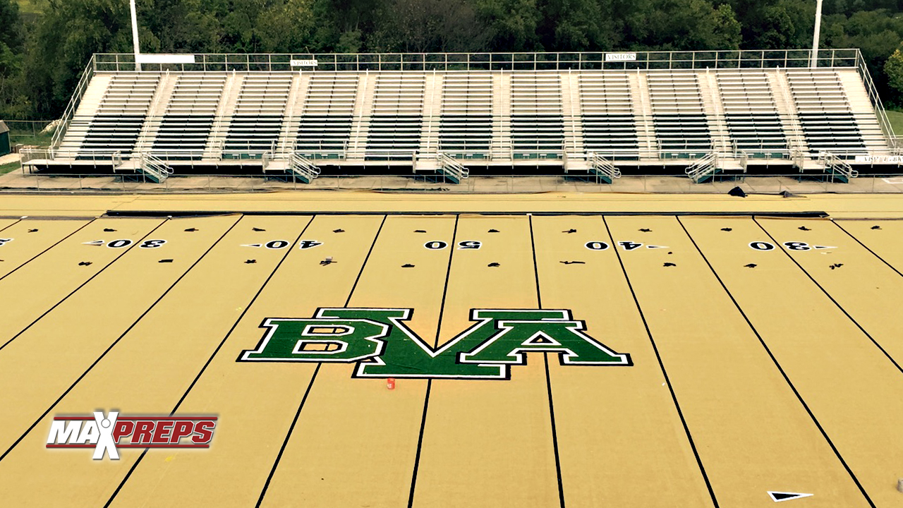 Belle Vernon High's unique gold football field - High ...