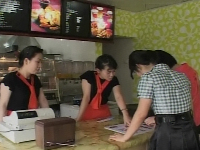 N. Korea's First Fast Food Joint