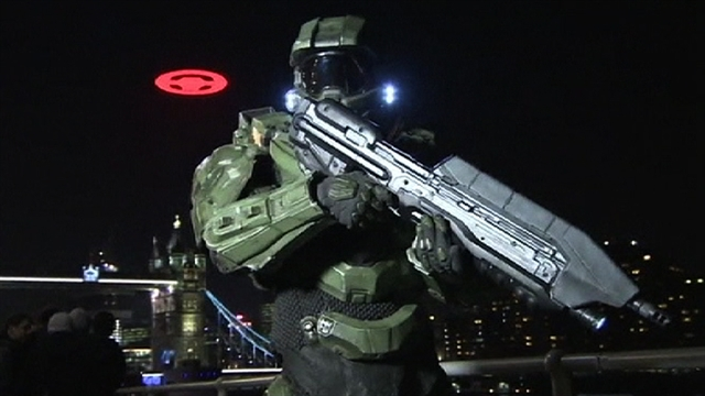 Halo 4 U.K. launch