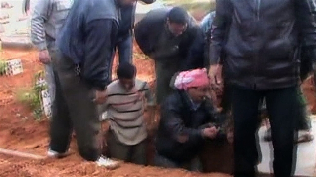 CBS Evening News: No rest for Syria's civil war