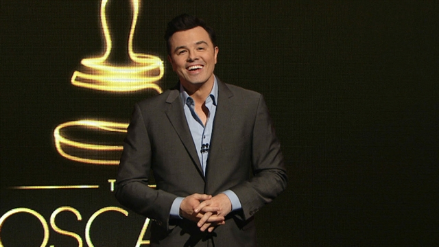 Entertainment: Seth MacFarlane jokes at Oscar nominations