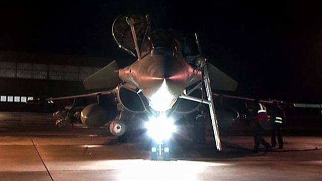 CBS Evening News: French fighter jets bombard Mali