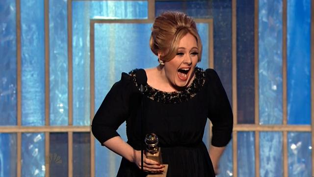 Entertainment: Adele wins 