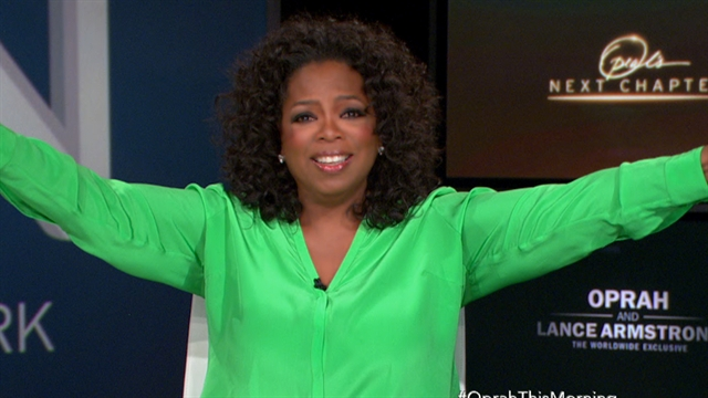 CBS This Morning: Oprah on career high: Making the CTM Eye Opener