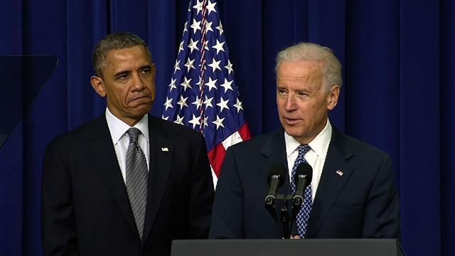 Politics: Biden introduces Obama's gun violence announcement