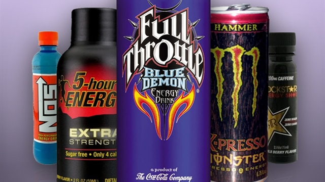 Health: Report: Energy drink-related ER visits doubled in 4 years