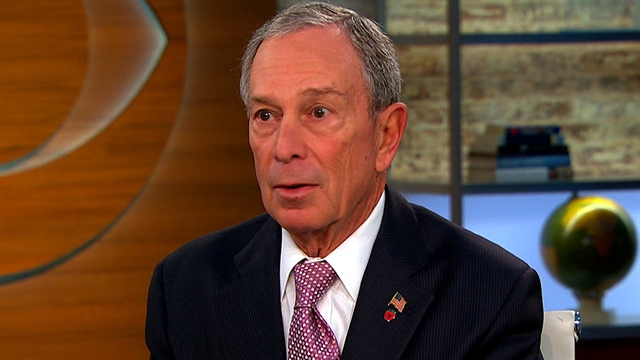 CBS This Morning Politics and Power: Bloomberg: Gun manufacturers get special legal treatment