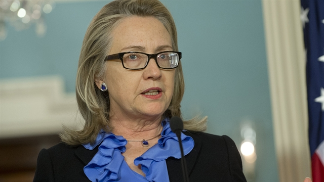 Politics: Hillary Clinton on Algeria hostage situation
