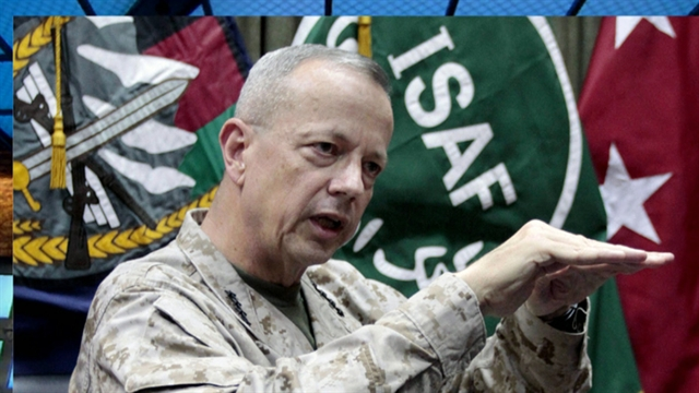 CBS This Morning: Gen. Allen cleared of misconduct allegations