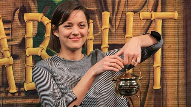 Entertainment: Marion Cotillard wins Hasty Pudding's 2013 Woman of the Year