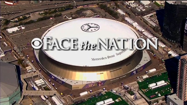 Face The Nation: February 3: Goodell on Super Bowl Sunday