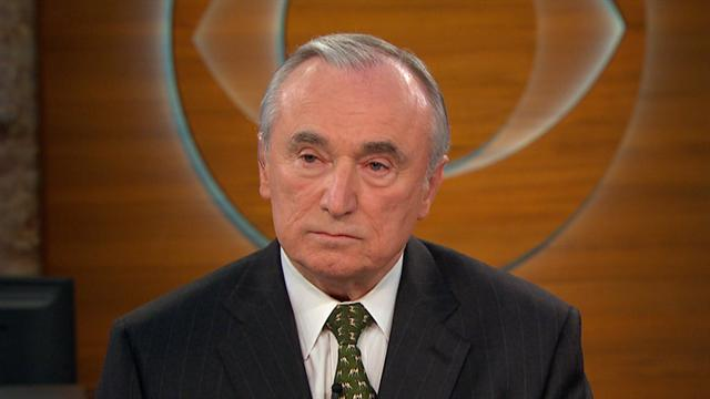 CBS This Morning: Bratton: Dorner's