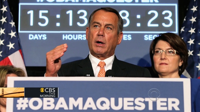 CBS This Morning Politics and Power: Democrats to unveil plan to avoid sequester