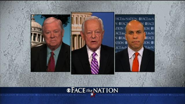 Face The Nation: Barbour, Booker discuss Washington gridlock