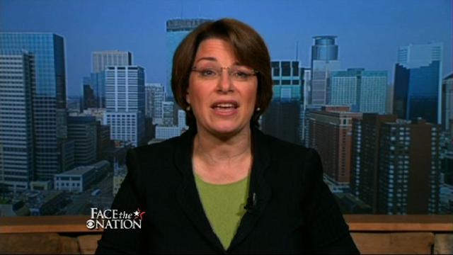 Face The Nation: Klobuchar: